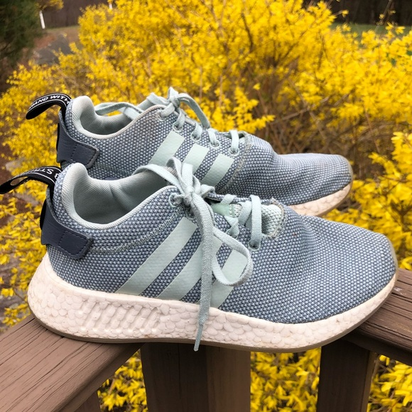 adidas Shoes - Adidas 7 NMD R2 SHOES Boost Women's Sneaker Blue